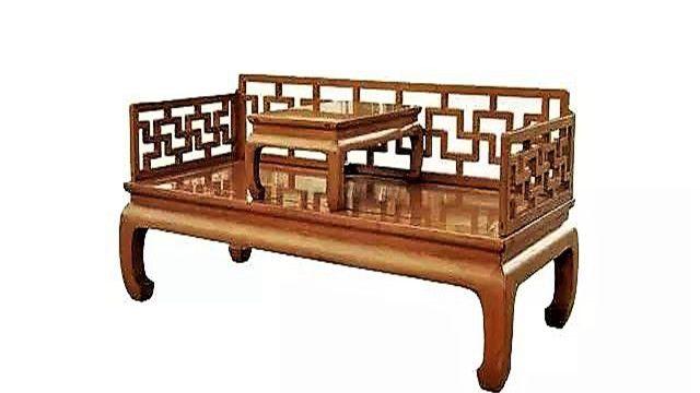 中国古典家具床榻请欣赏