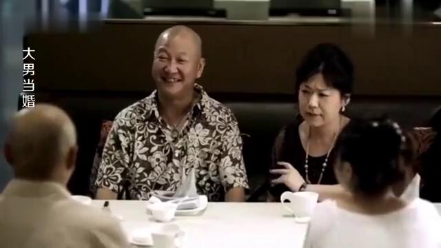大男当婚:徐峥谈了个小女友,谁料女友父亲也是光头,真是太巧了