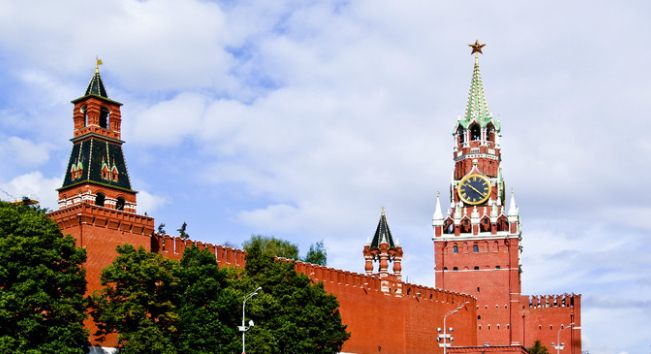 克里姆林宫——俄罗斯国家的象征,世界上最大的建筑群之一