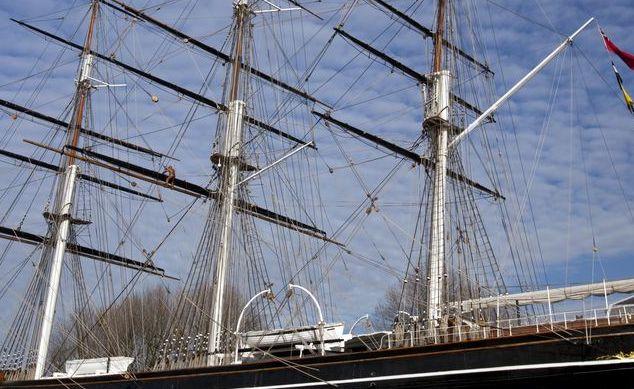 卡蒂萨克号,是帆船史上速度最快的一艘,被称为顺风威士忌