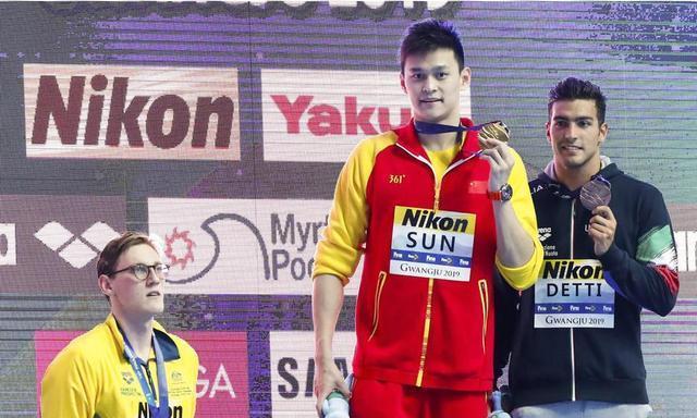霍顿之后英国选手再挑衅孙杨霸气回应苏群:中国泳协应提出抗议