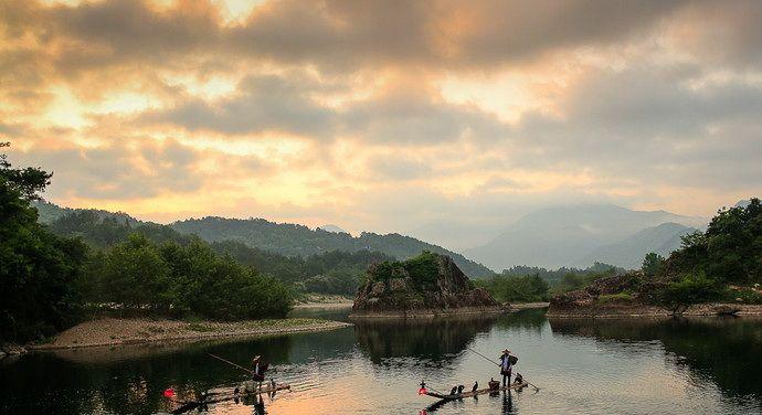 """陶渊明笔下的田园风光在此生动展现,被誉为""""中国山水画摇篮"""""""