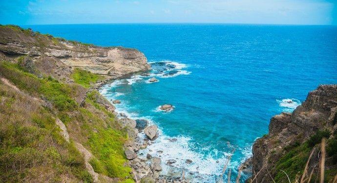 位于塞班岛东南面的禁断岛是一个半离岛,岛上极少有人类的踪迹