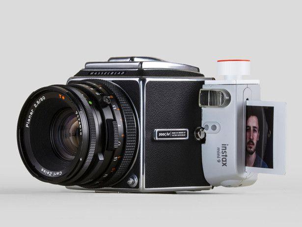 设计师脑洞黑科技,相机与拍立得结合是什么样,成品感人?
