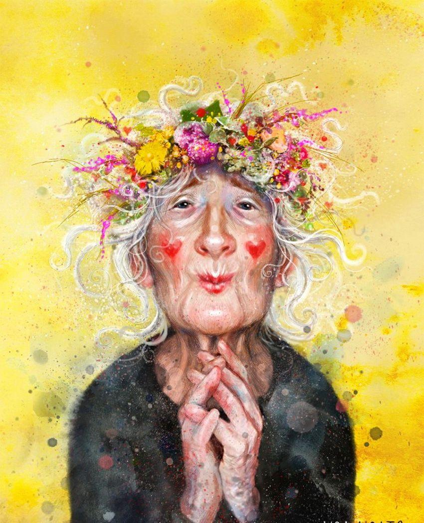 一组温暖人心的治愈性插画:来自美女插图画家LISA AISATO