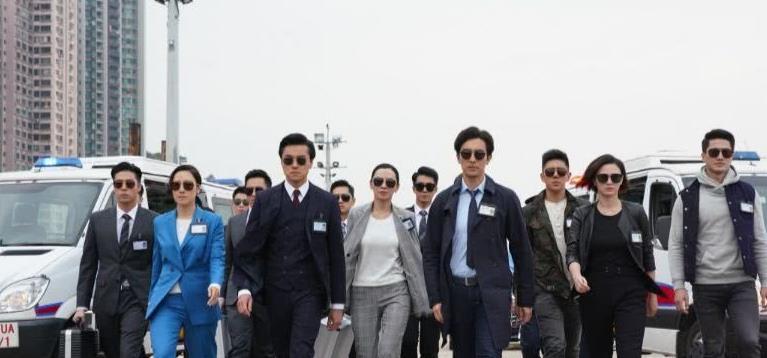 TVB《法证先锋IV》掀收视高潮,首集就打破八年纪录