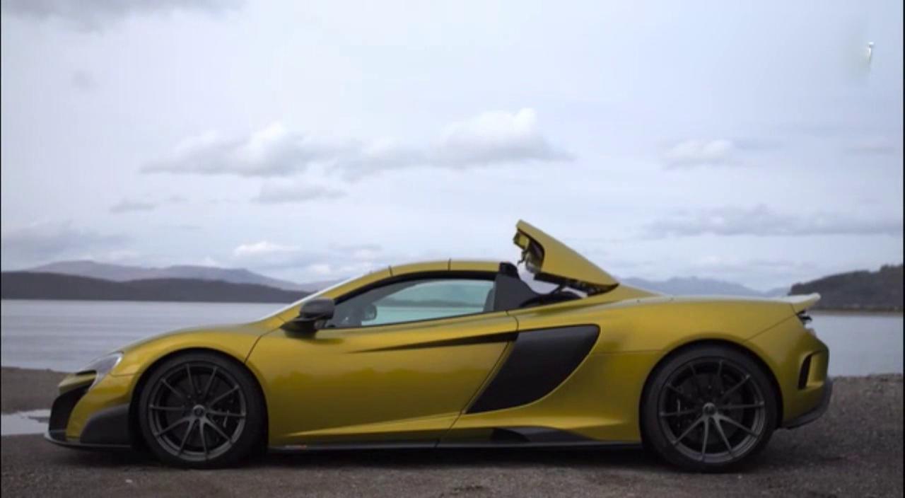 视频:只能用风驰电掣来形容 试驾迈凯伦675LT Spider
