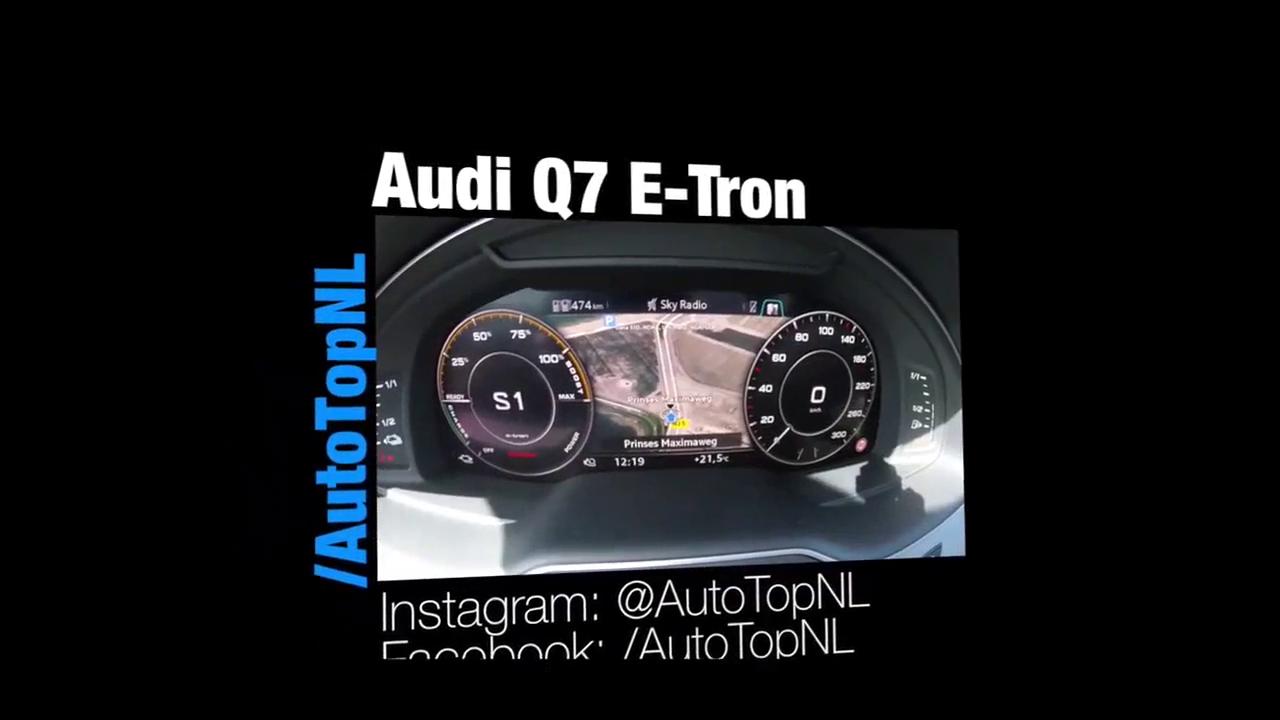 视频:奥迪Q7 e-tron 3