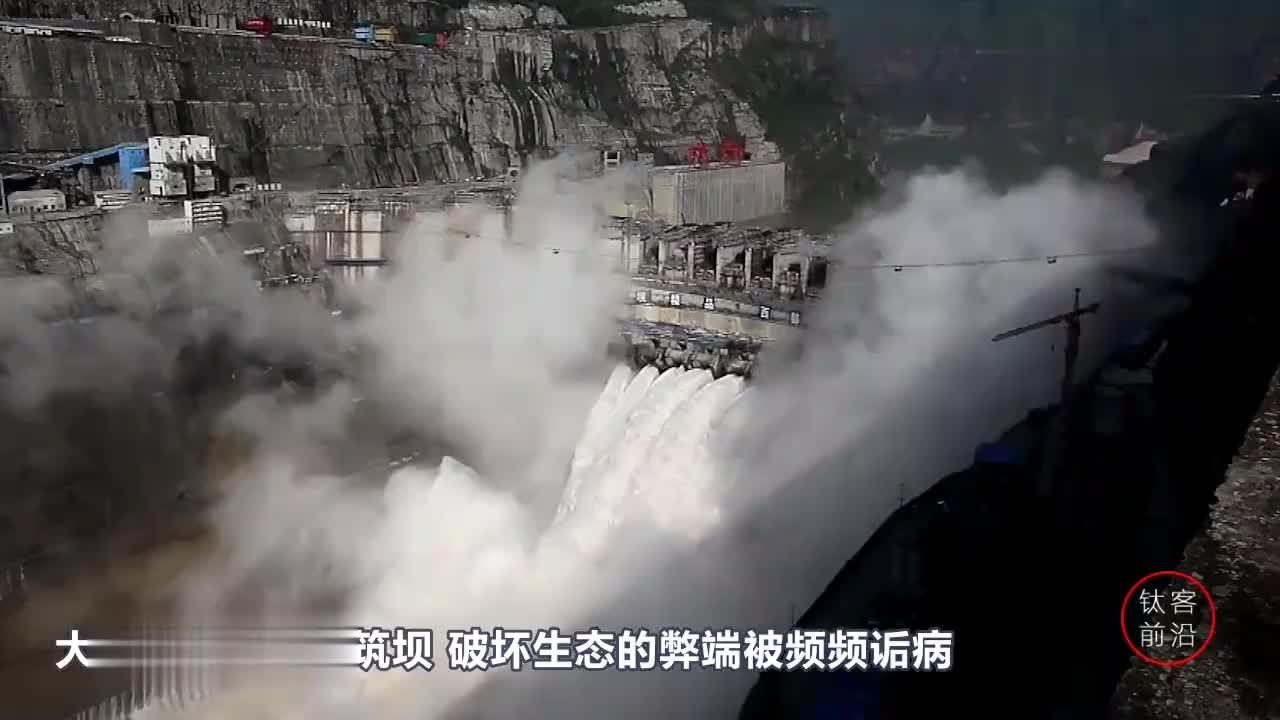 不用修水坝的水力发电船发电量18万千瓦全村都用不了