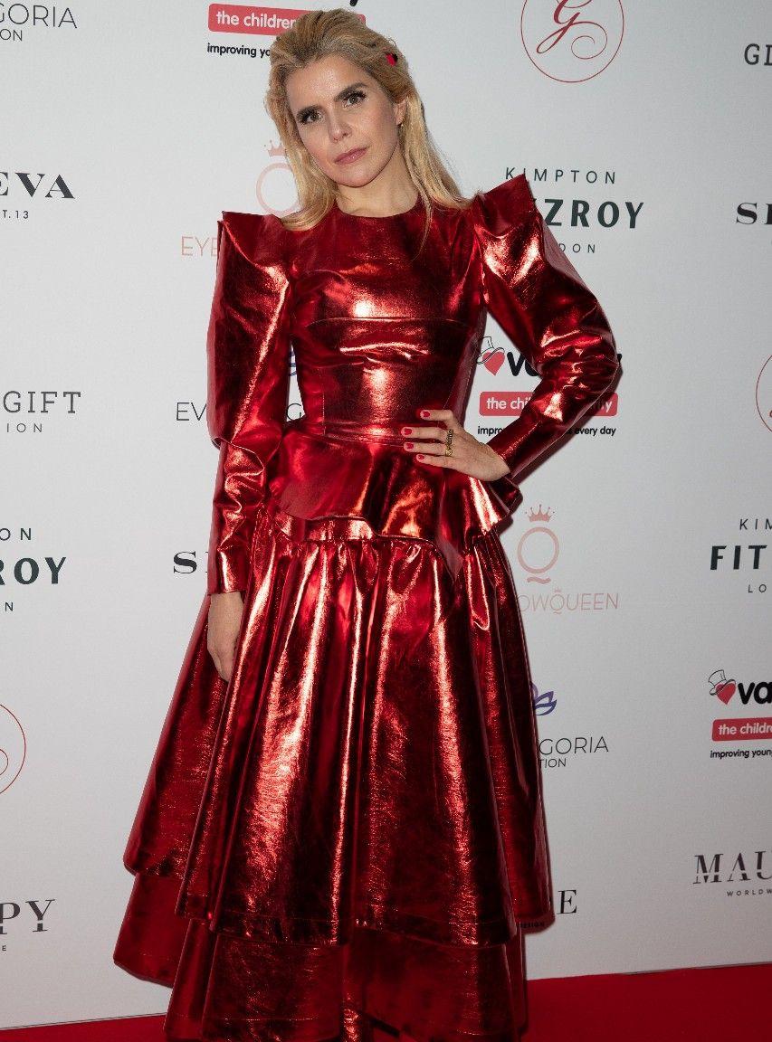 LA娱乐|英国歌手帕洛玛·费丝,出席伦敦全球礼品晚宴