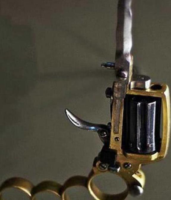 历史上,设计师脑洞大开的枪械武器,手枪加刺刀是几个意思?