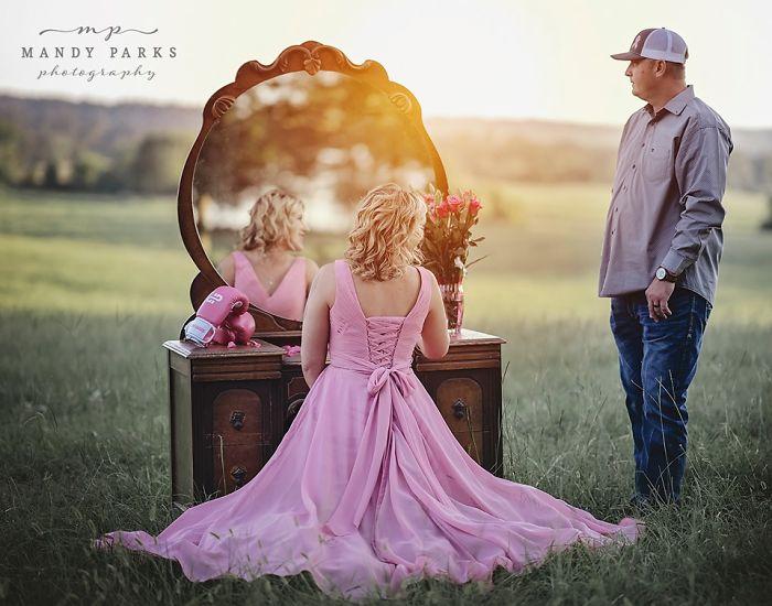 妻子患癌后,夫妇拍了一组写真,网友20万次转发为他们送祝福