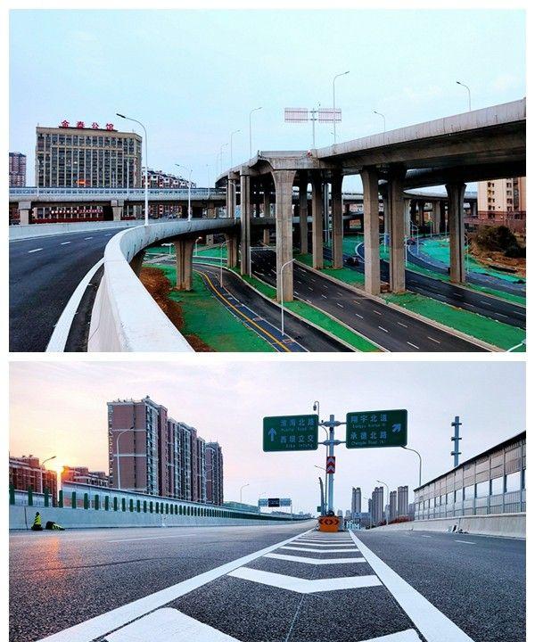 江苏各市全进高铁时代,淮安内环高架明天开通,骑行探访虚实
