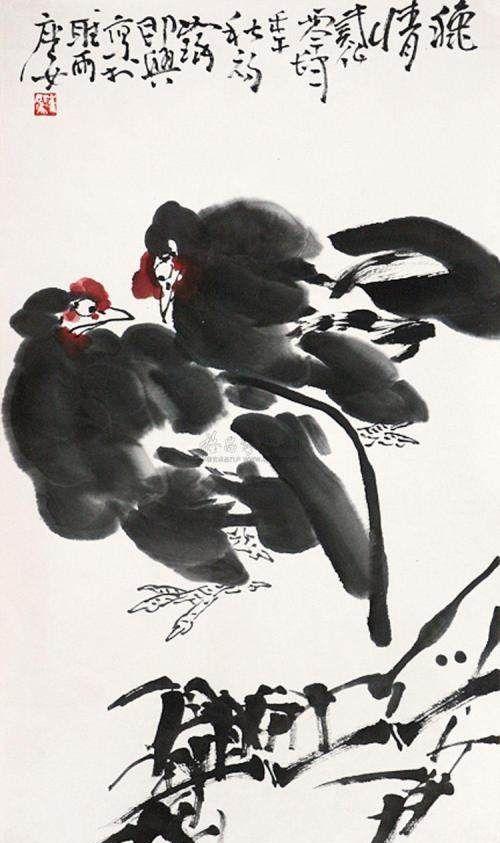 著名写意画家崔如琢,国画作品欣赏!