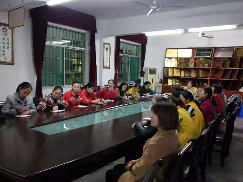 汉阴县幼儿园开展保育员保研活动