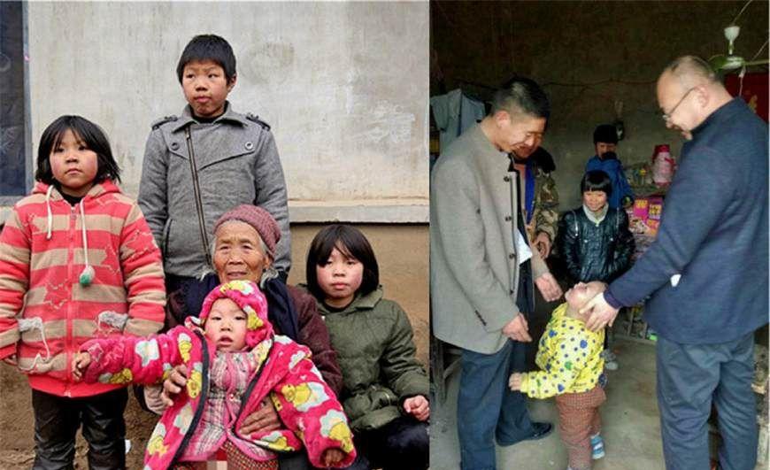 父母去世留下兄妹4人 8旬奶奶无力抚养后续:4名孩子均受资助