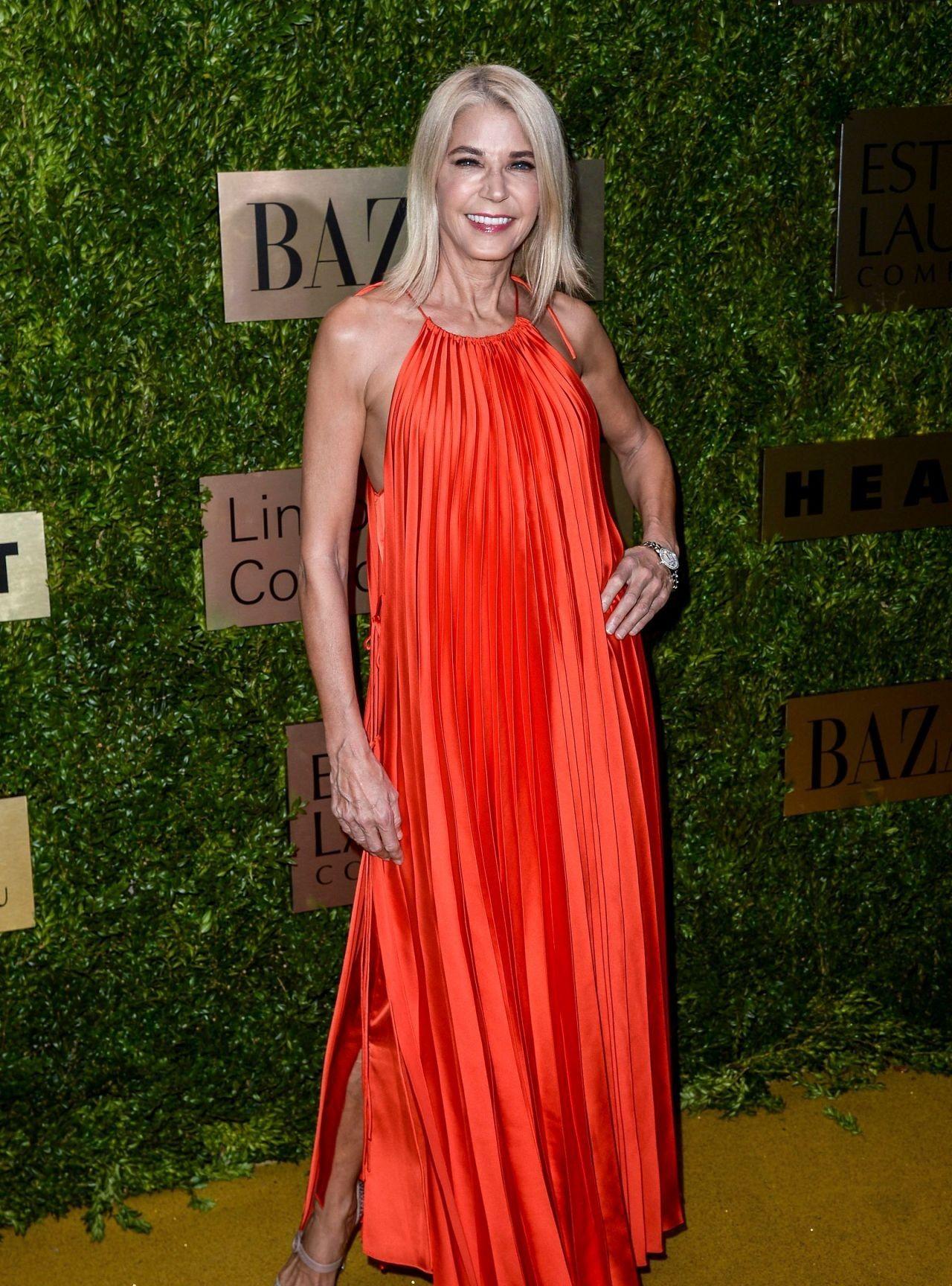 LA娱乐|美国演员坎蒂丝·布希奈儿,出席纽约林肯中心时尚晚会