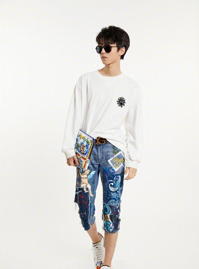王俊凯:杜嘉班纳2018秋冬男装系列大片 品牌大使上线