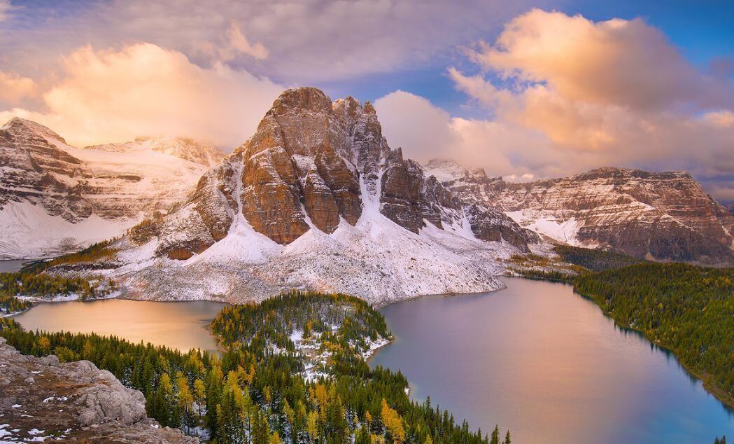 跟随镜头,走进冰雪世界的加拿大落基山