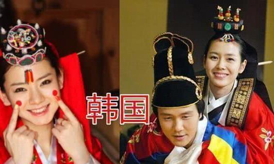 一国一嫁衣:韩国的华丽,日本的端庄,看到中国的:我骄傲了