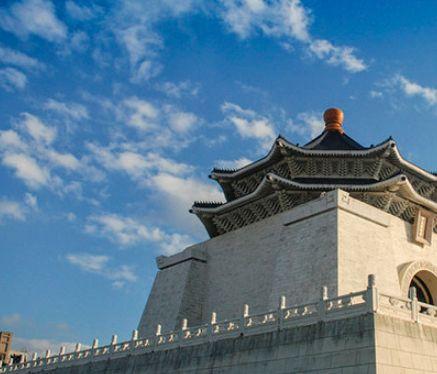 中正纪念堂——为纪念蒋介石而建,中国宫殿式建筑,文艺气息浓烈