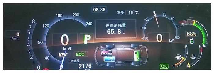 插电式混合动力车型,没电了之后油耗表现如何