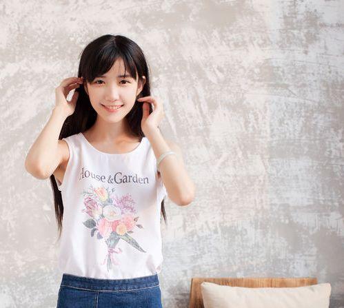 HELLO校花女神网络票选冠军的米咪,纯美佳人形象太让人惊艳了!