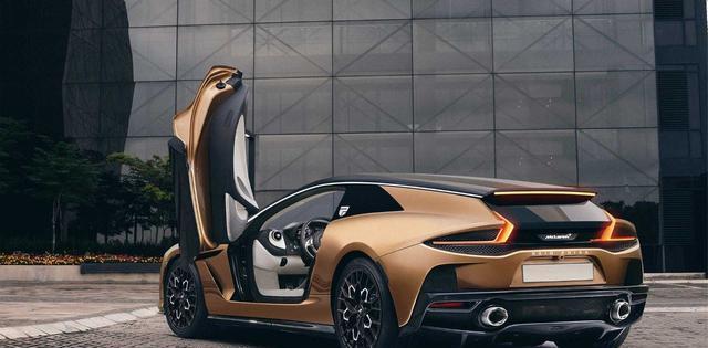 迈凯轮GT射击制动器的绘制