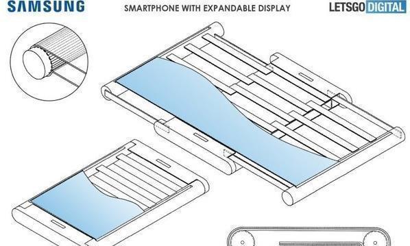 三星二代折叠屏专利:展开后俨然一个小型电脑屏幕