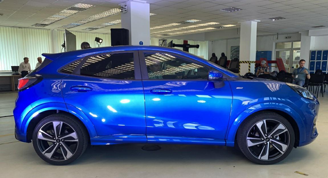 2020款福特Puma海外售价公布,入门搭载1.0T三缸