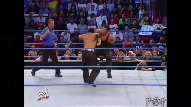 WWE:布洛克的调虎离山太阴险,送葬者赔了夫人又折兵!