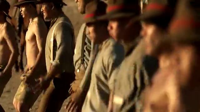 盟军被困在加里波利海滩上,新西兰军队跳毛利战舞,为自己打气