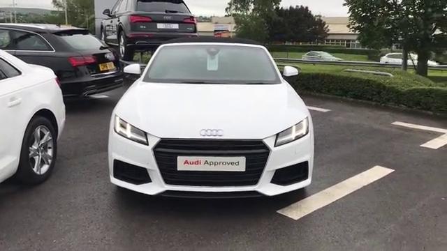 视频:19款美版奥迪TTSLINE到店实拍,实车看起来更运动!