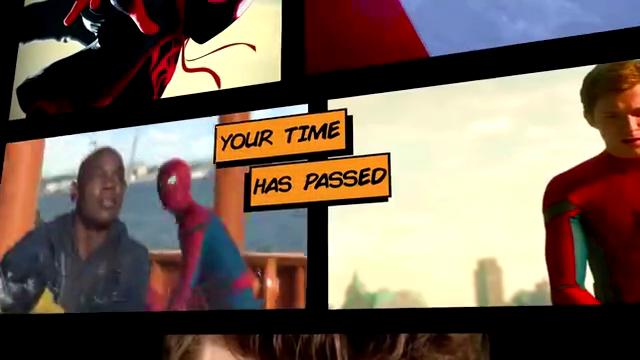 """不同版本的""""蜘蛛侠""""说唱比拼"""