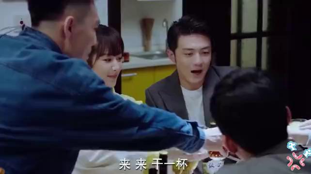 小紫参加米邵飞乔迁之喜,王浩向佟年为韩商言说话,佟年很尴尬!