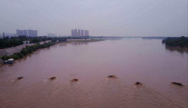 黄河济南段迎来洪峰流量剧增,汛季已过