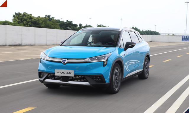试驾广汽新能源AIONLX:一台高水准高颜值的纯电SUV