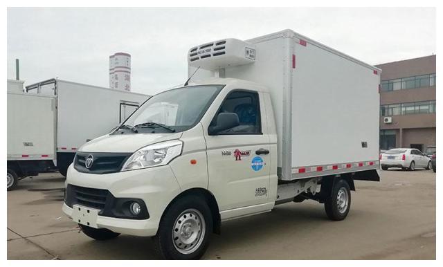 福田厢式冷藏车_福田小型冷藏车报价及图片