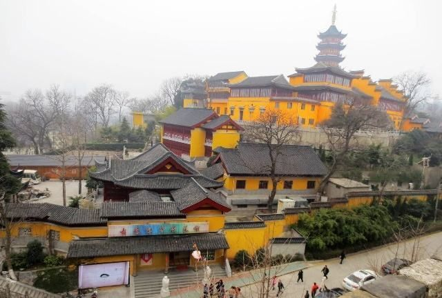 鸡鸣寺 四:位于南京市玄武区鸡笼山东麓山阜上,又称古鸡鸣寺
