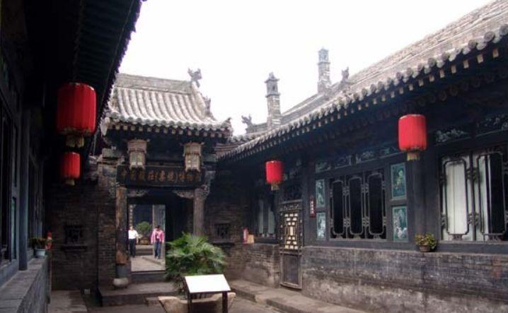 """协同庆钱庄,位于平遥南大街,现另一称呼为""""钱庄博物馆"""""""