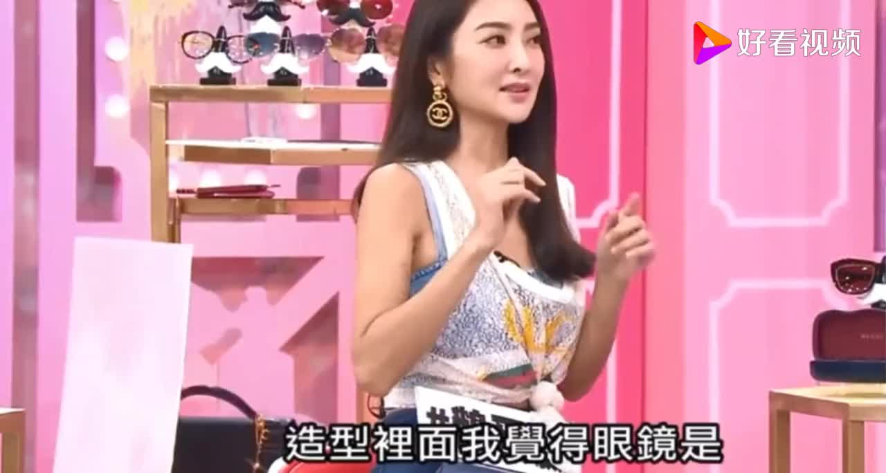 蓝心湄和吴速玲限量名牌墨镜大PK果然还是她的比较时尚