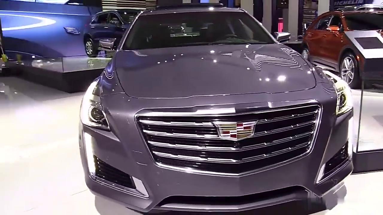 视频:全新凯迪拉克CTS亮相车展,家族式前脸帅气十足