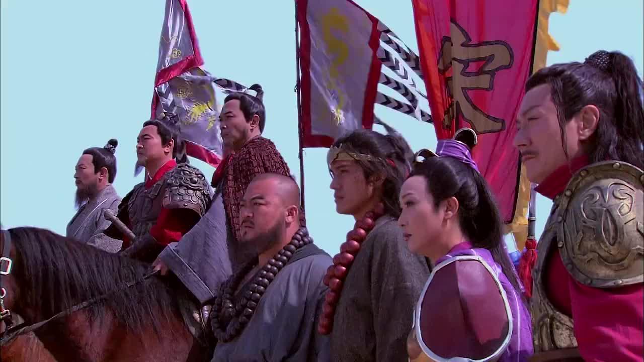 武松关前大战不料被方天娇认了出来方腊直接就收兵了