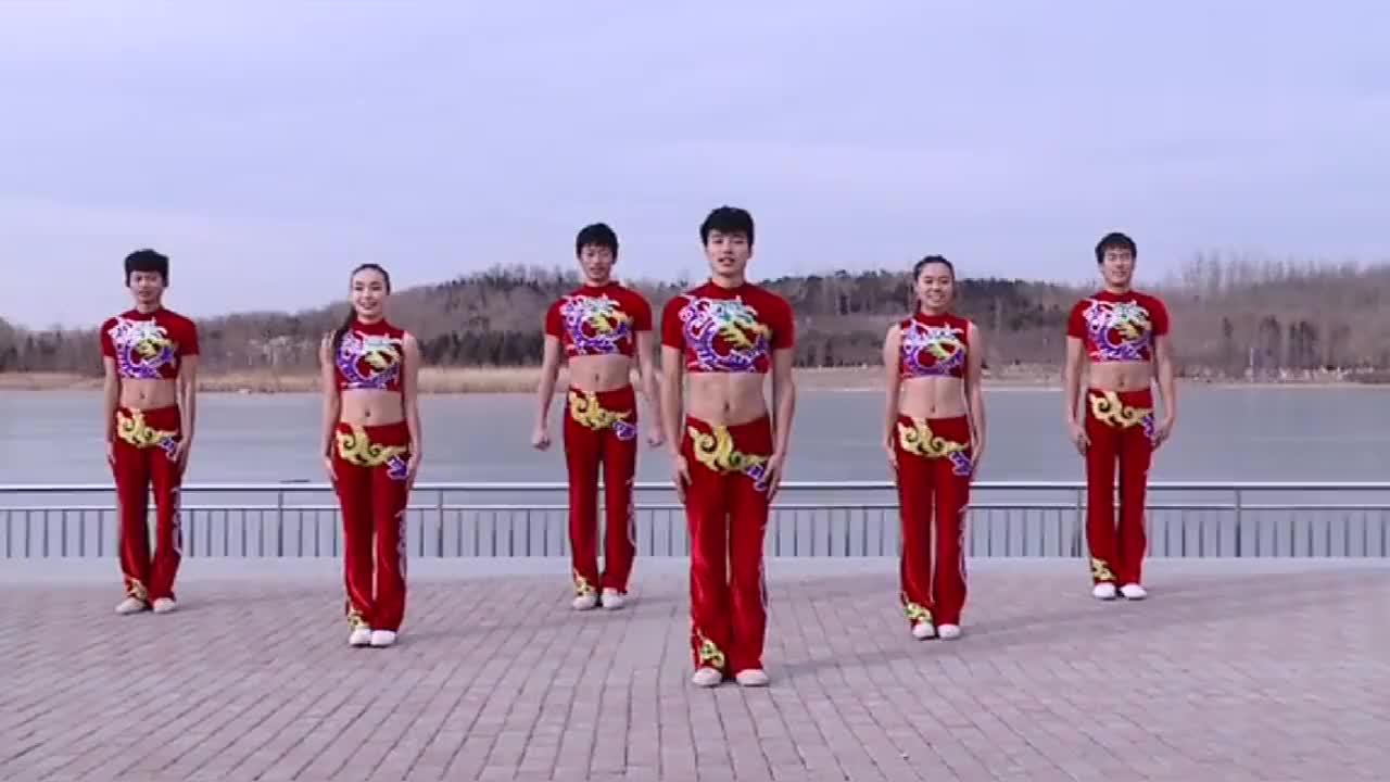 中央民族大学体育学院民族健身操视频跳得好棒啊