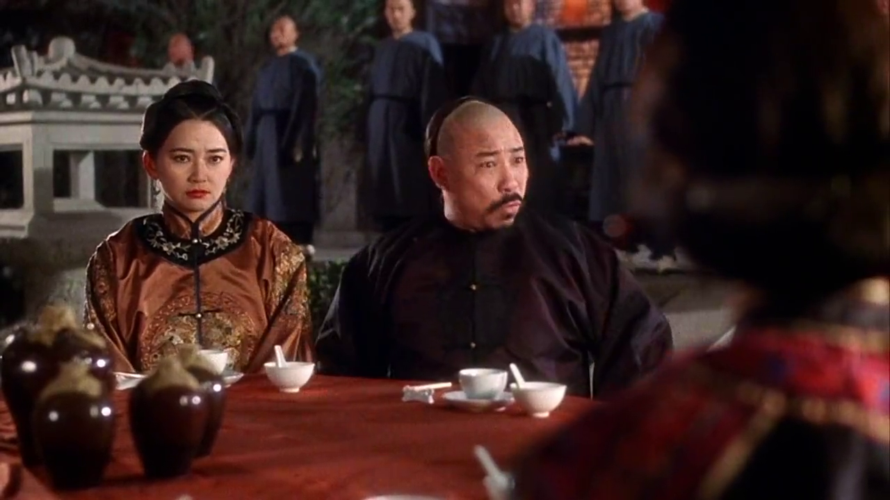 《方世玉》李连杰迎娶李嘉欣,萧芳芳这表情有几个能做到