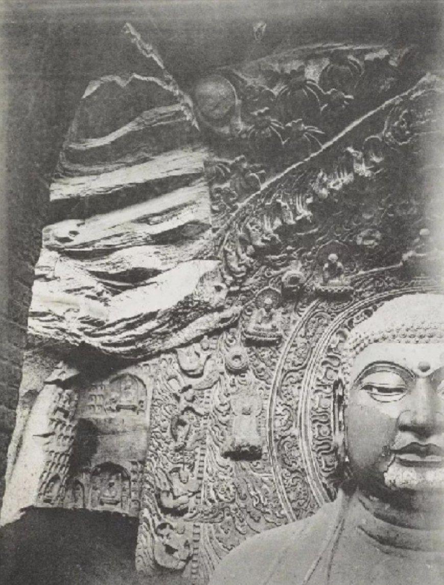 百年之前的敦煌莫高窟:佛像栩栩如生今不在,华夏心中永远的痛!