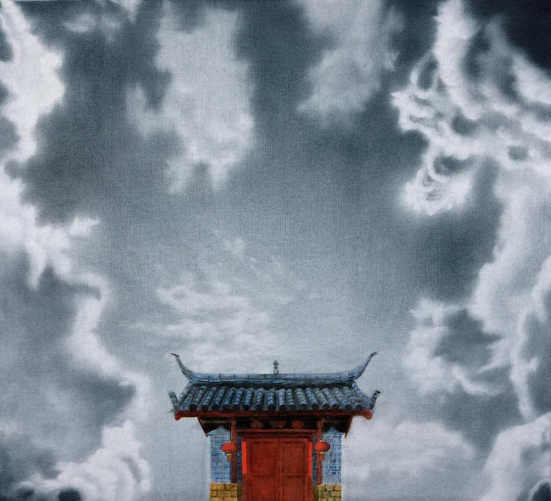 山西师范大学油画专业毕业生石锐锋的绘画作品欣赏
