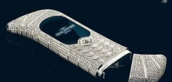 如果Vertu的价格让你咂舌,这款手机会让你惊为天物