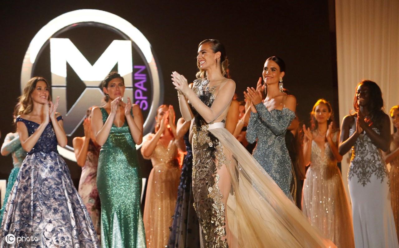 8月18日在西班牙梅利利亚卡瓦哈尔礼堂举行2019年世界小姐大赛