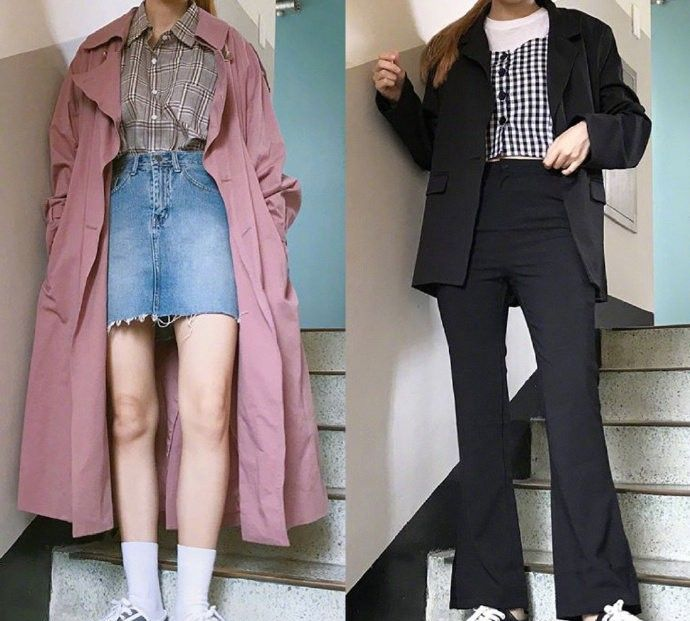 衣橱里的格纹元素,不论是内搭还是外穿,都是时髦上镜的百搭款
